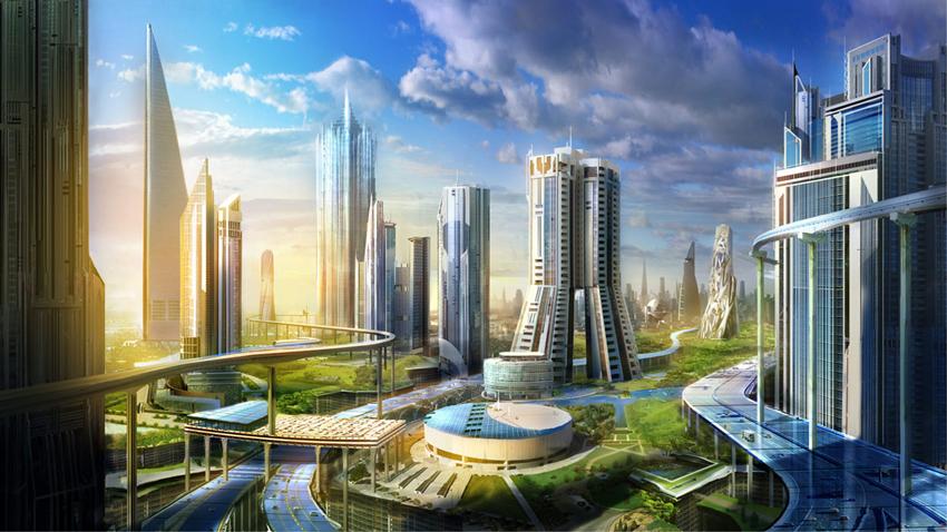 город будущего-2