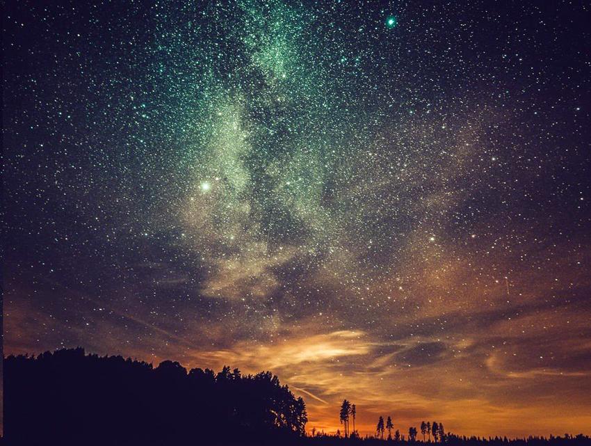 небо звезд