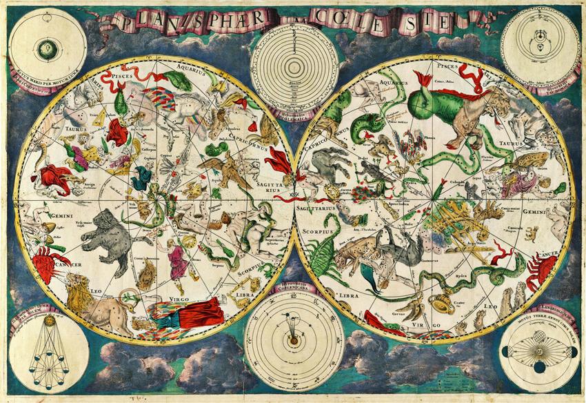 Картинка небесный карт